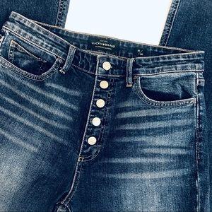 Lucky Brand Jeans - Lucky Brand Bridgette Crop Flare Jean Size 10